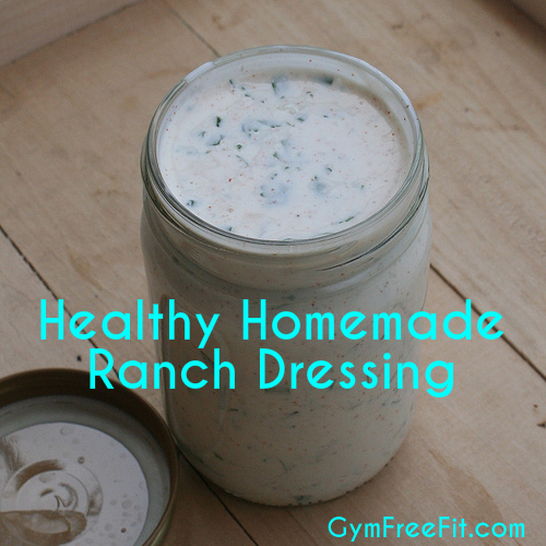 Ranch dressing recipe