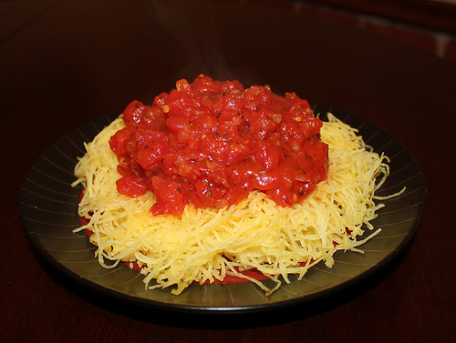 spaghetti squash by Scott Veg
