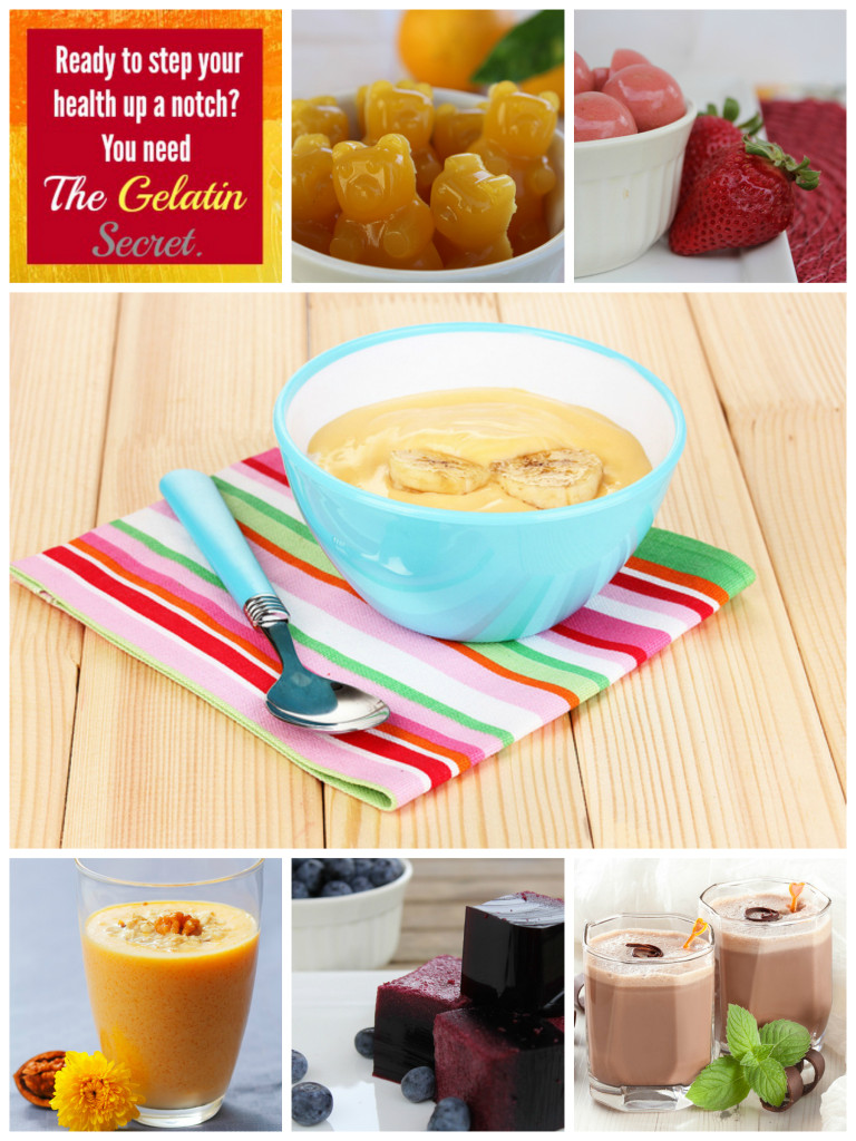 Gelatin Secret Recipe Collage