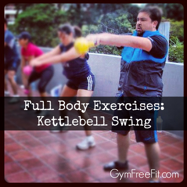 full body exercises kettlebell swing