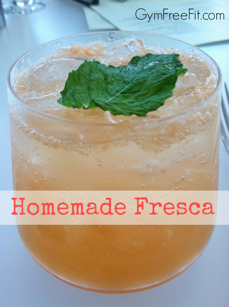Homemade Fresca