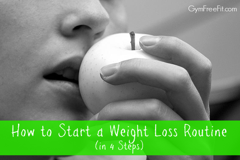 How to Start a Weight Loss Routine