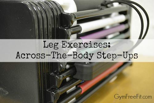 Leg Exercises: Across-The-Body Step-Ups
