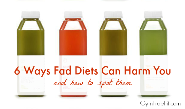 6 Ways Fad Diets Can Harm You